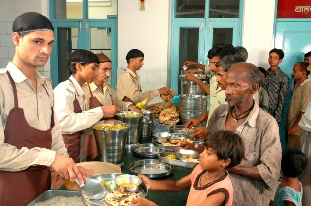 Full Meals Just for One Rupee at Ludhiana , Punjab - Serving the People from 1996