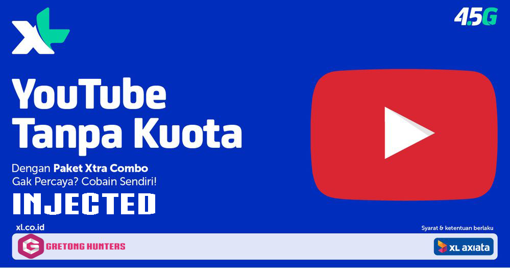 XL Youtube Midnight 0kb Unlimited 09 April 2019 - HTTP Injector