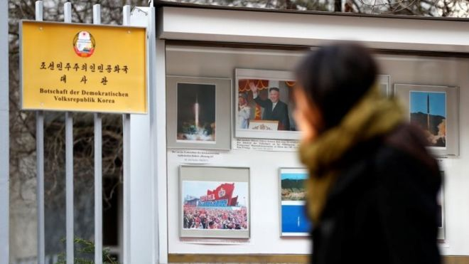 North Korea 'uses Berlin embassy to get missile parts'
