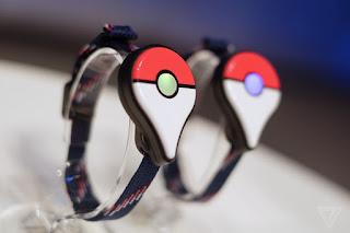 Gelang Pintar Pokemon Go Plus