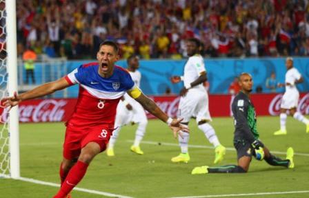"5. 0' 32"" (Clint Dempsey) - USA V Ghana (2014)"
