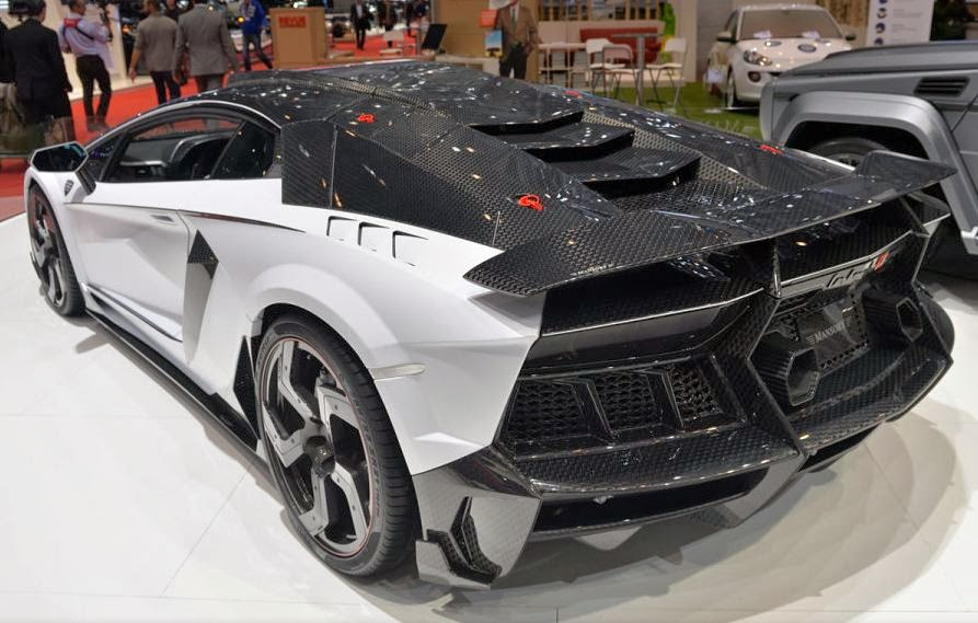 Automotivegeneral 2015 Mansory Lamborghini Aventador Carbonado Gt