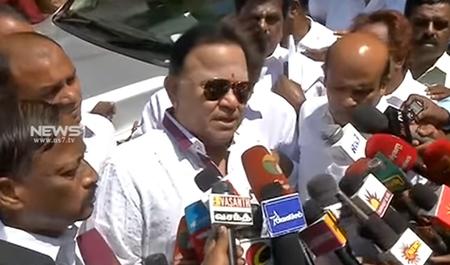 Only MK Stalin can save Tamil Nadu : Radharavi