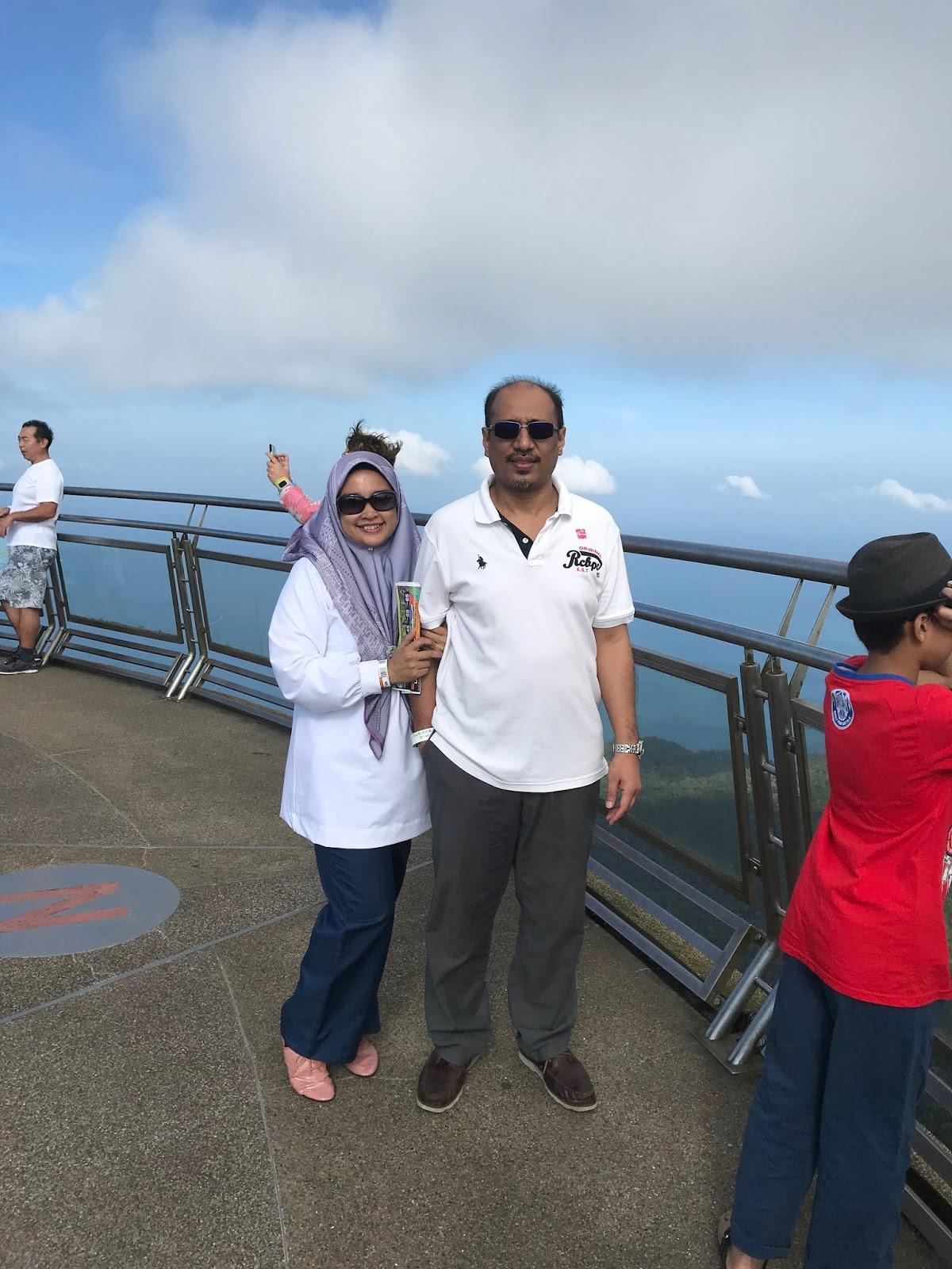 Bercuti Di Langkawi -Pagi Hari Di Oriental Village Naik SkyCab