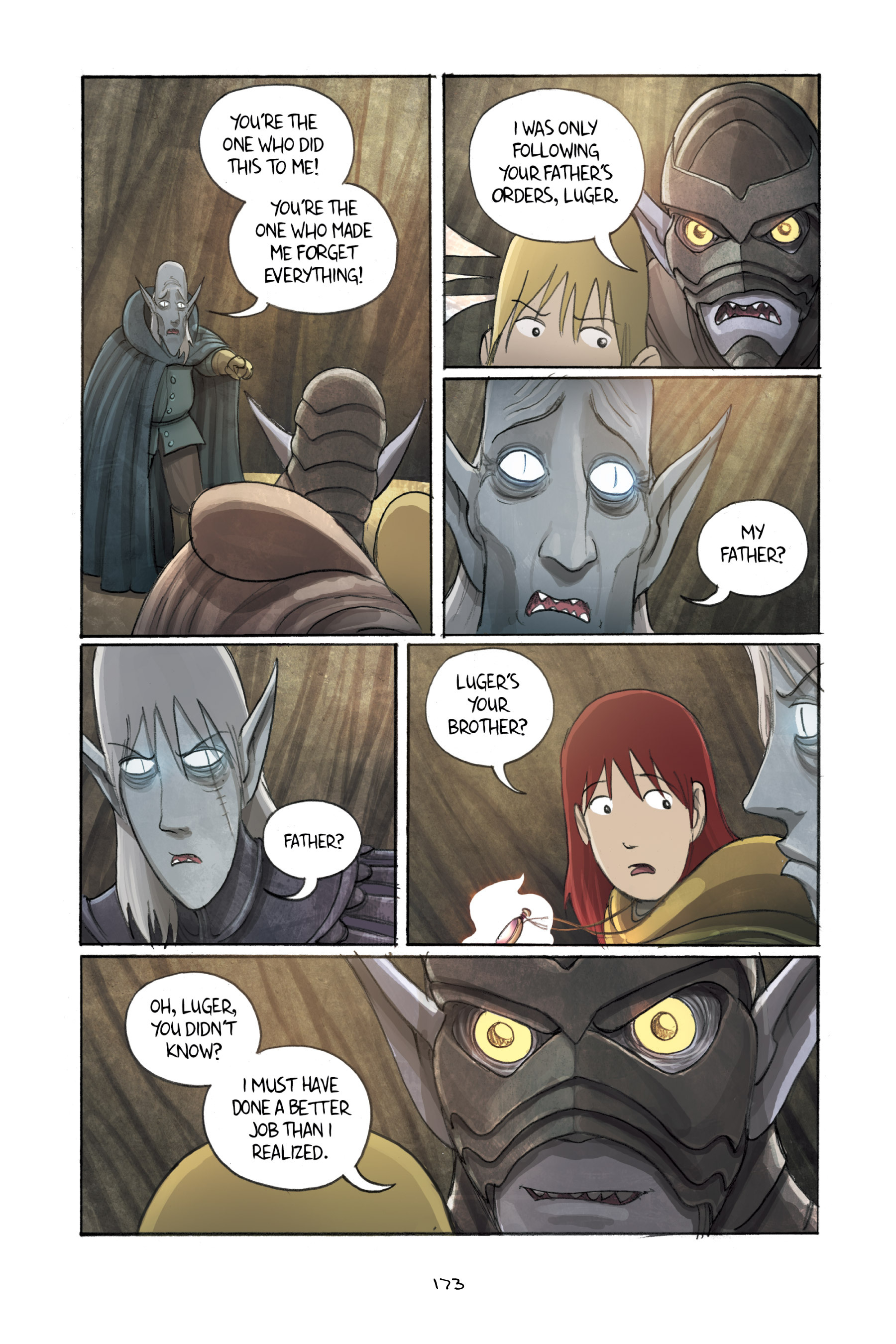Read online Amulet comic -  Issue #3 - 169