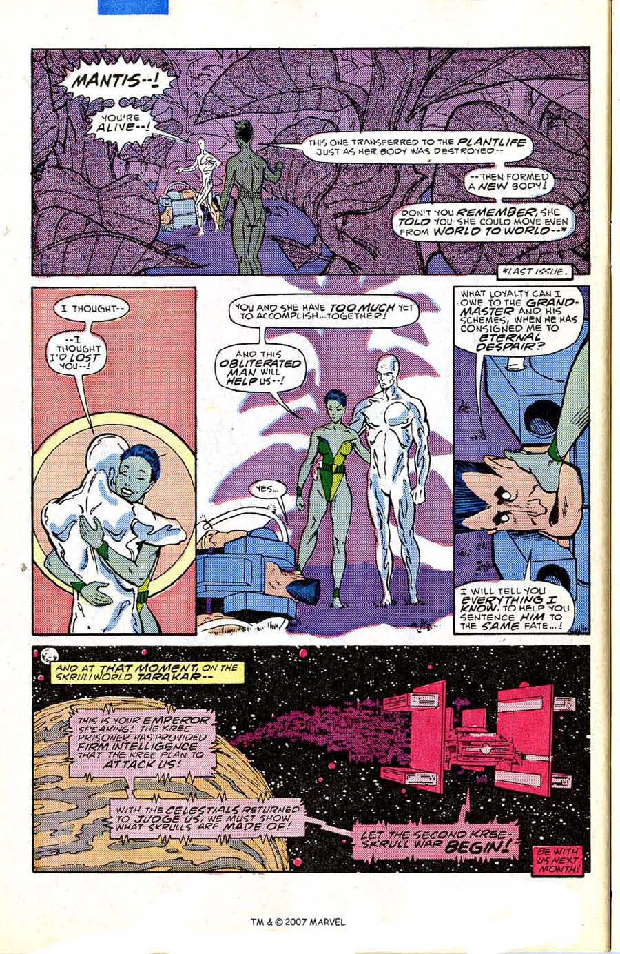 Read online Silver Surfer (1987) comic -  Issue #5 - 32