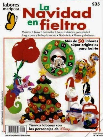 La Navidad de Disney en Fieltro