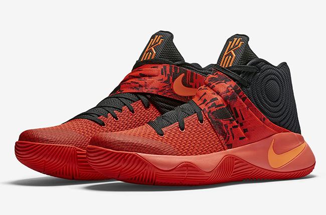 online retailer 70087 62224 Swag Craze  First Look  Nike Kyrie 2  Inferno