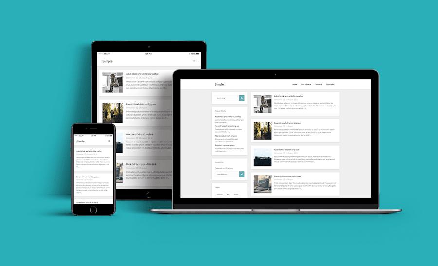 Simple - Plantilla para blogger responsive