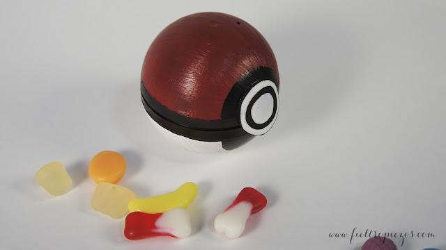 como hacer pokeball pokemon dulcero