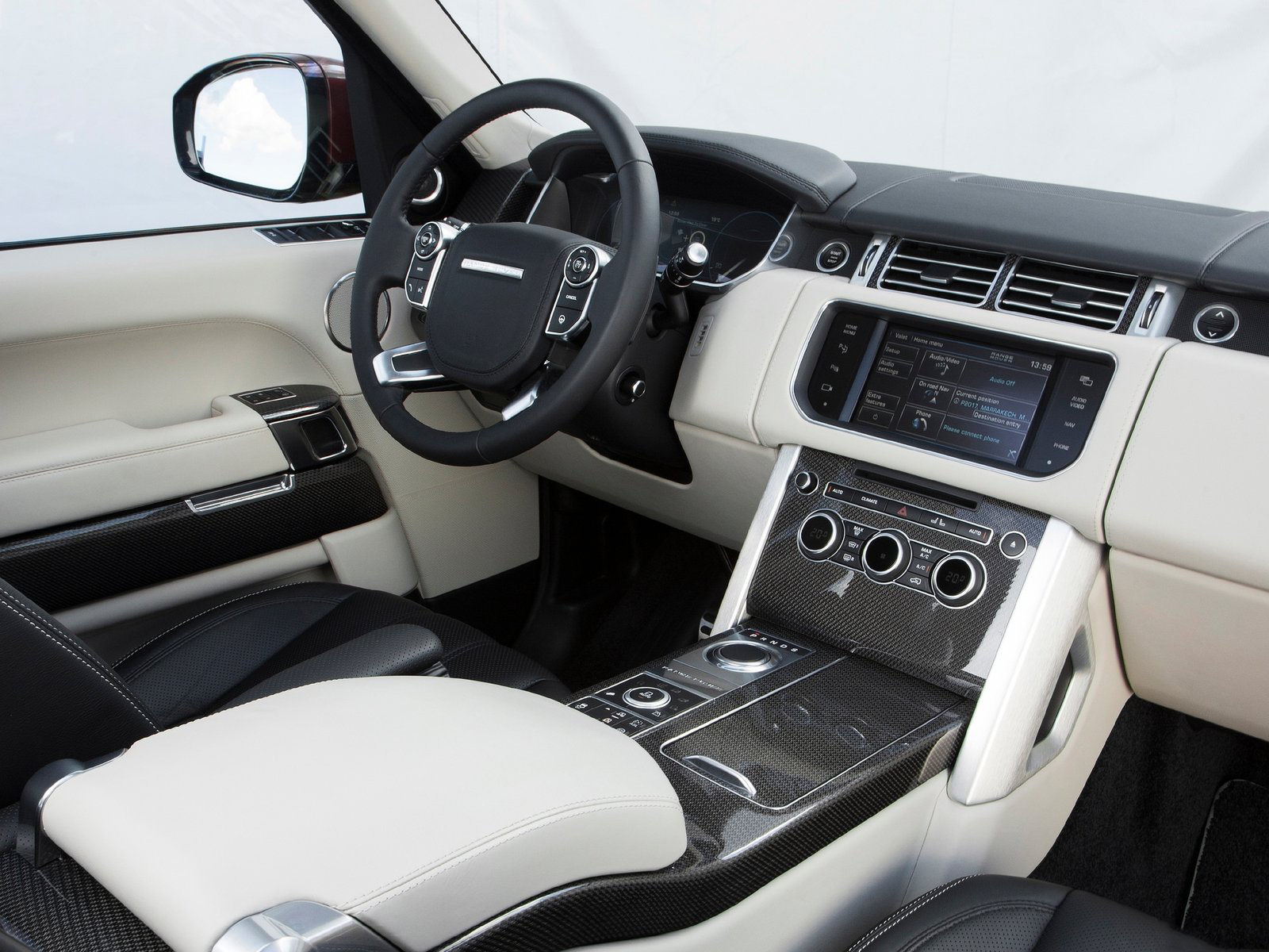Automotive Database: Range Rover (L405)