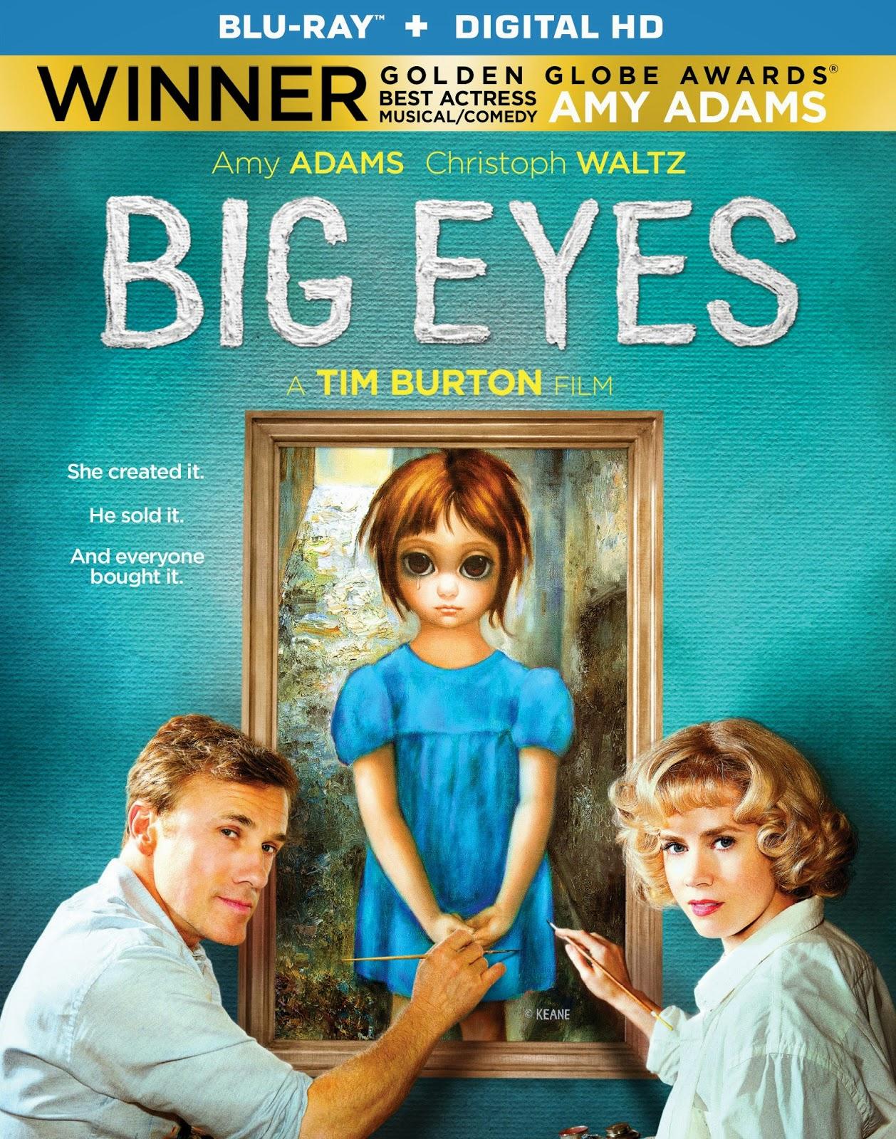 Big Eyes Cover Caratula Blu-ray