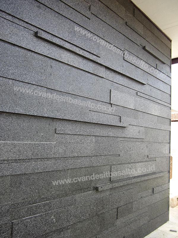 batu alam untuk dinding teras rumah