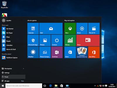 kelebihan tampilan windows 10