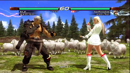 Download Tekken 6 PSP ISO High Compressed