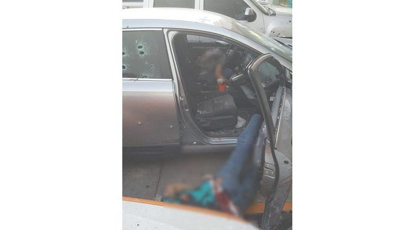 Fotos y Videos, Asi quedaron perforados y cocidos a balazos dos hombres en Culiacan; Sinaloa