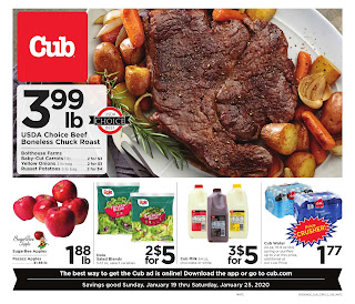 ⭐ Cub Foods Ad 1/26/20 ⭐ Cub Foods Weekly Ad January 26 2020
