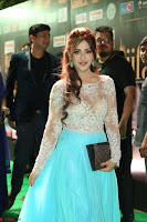 Angela Krislinzki in a lovely Neon Blue Skirt at IIFA Utsavam Awards 2017  Day 2  Exclusive 07.JPG