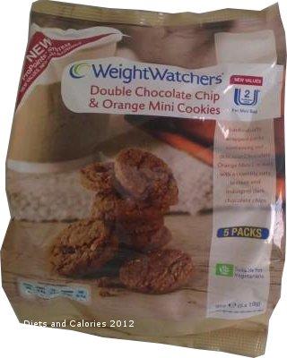 Weight Watchers Chocolate Orange Bars