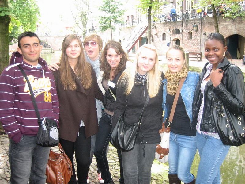 Sinh viên quốc tế ở Đại học Khoa học Ứng dụng Utrecht