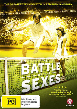 Battle of The Sexes 2017 WEB-DL 350MB English 480p ESub