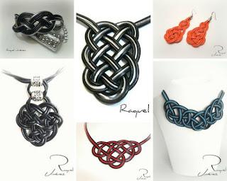 nudos celtas de cuero
