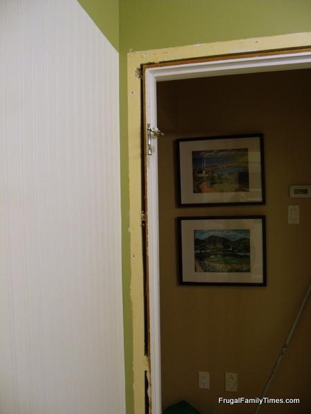 Beadboard Wallpaper Corner