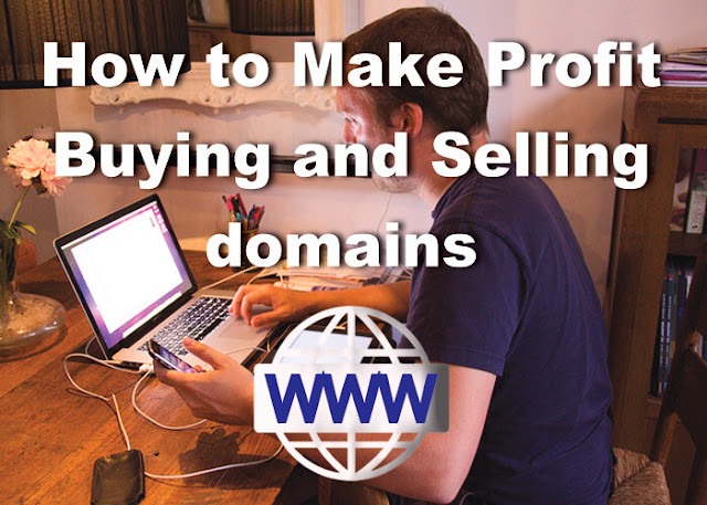 How to earn money buying selling domain names