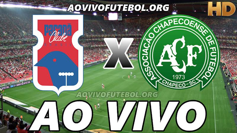 Paraná x Chapecoense Ao Vivo HD TV PFC