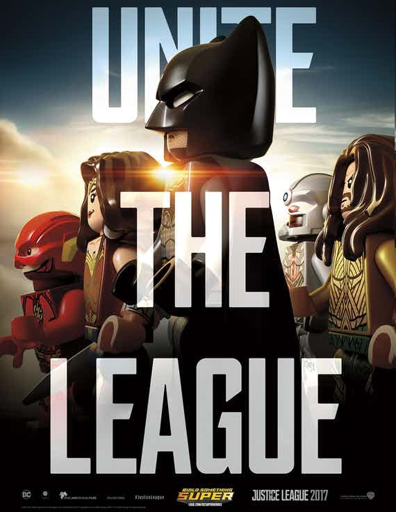 "Justice League ""Unite the League"" Posted Gets LEGO Version."