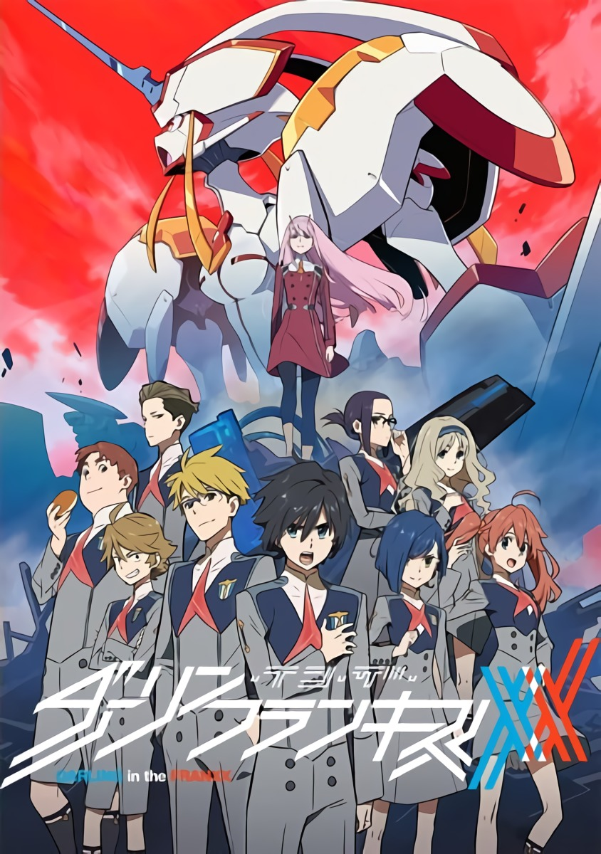 Darling in the FranXX BD Subtitle Indonesia [x265]