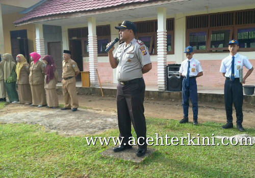 Sosialisasikan UUPA, Polres Aceh Singkil Saweu Sikula