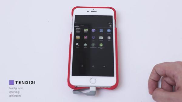بالفيديو: مطور يقوم بتشغيل نظام أندرويد على آيفون !