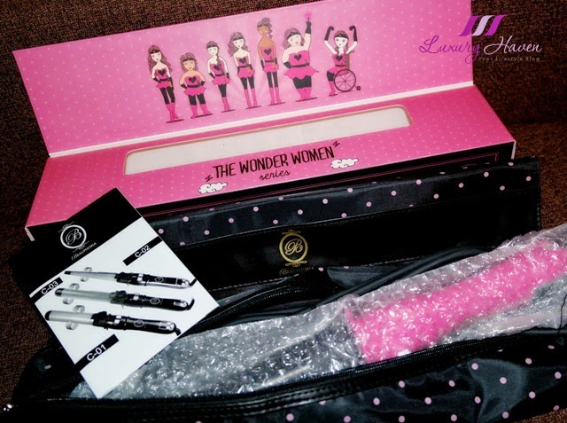 beauphoria wonder women series automatic curling iron review