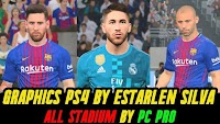 Graphics PS4 By Estarlen Silva (All Stadiums) - PES 2017