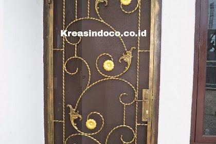 Model - Model Pintu Kasa Besi Tempa