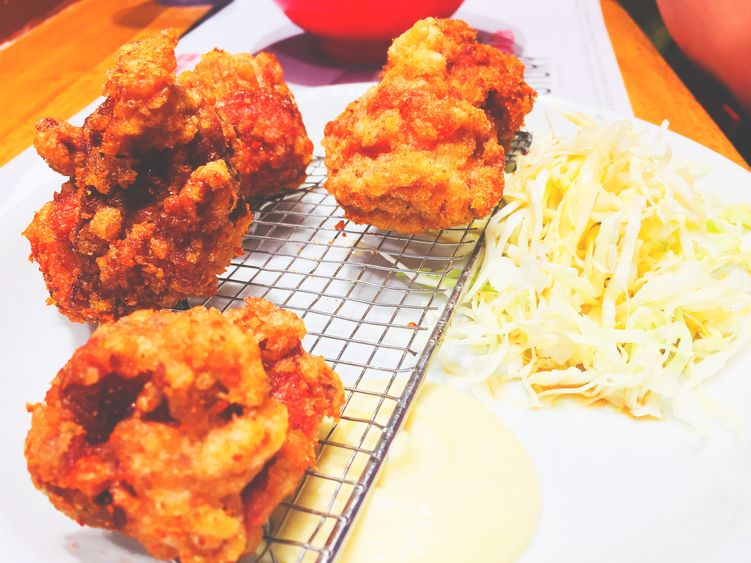 Pork katsu roll at Ramen Nagi