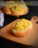 Sweet corn buns recipe