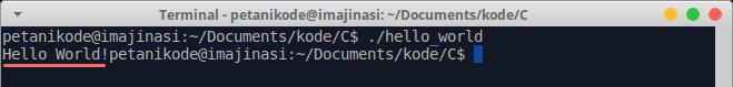 Cara eksekusi program di Linux