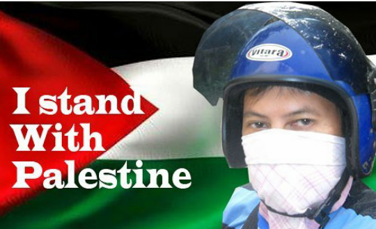 I stand with Palestine in every way.