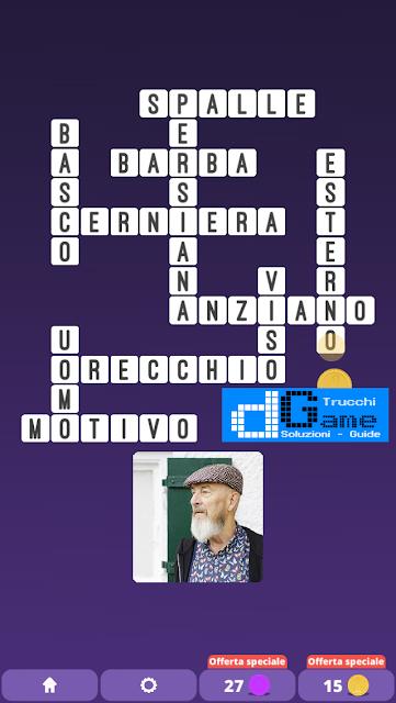 Soluzioni One Clue Crossword livello 23 schemi 8 (Cruciverba illustrato)  | Parole e foto