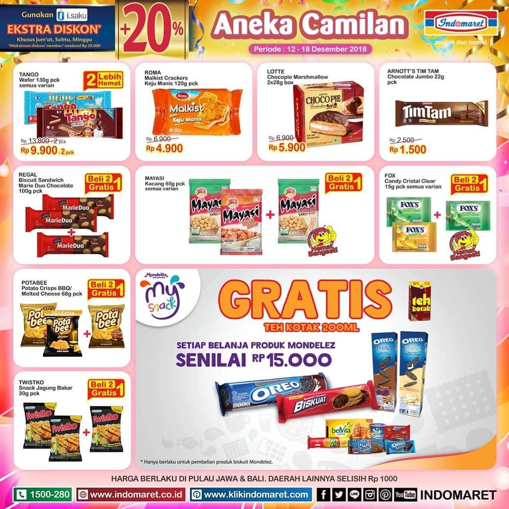 Indomaret - Promo Katalog Super Hemat Mingguan Periode 12 - 18 Desember 2018