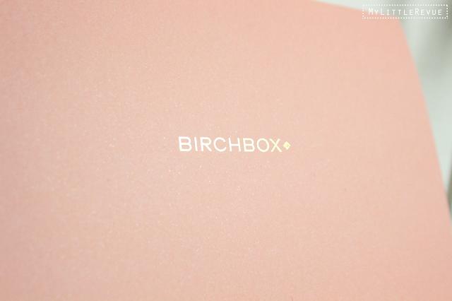 Birchbox Janvier 2016 nouveau départ