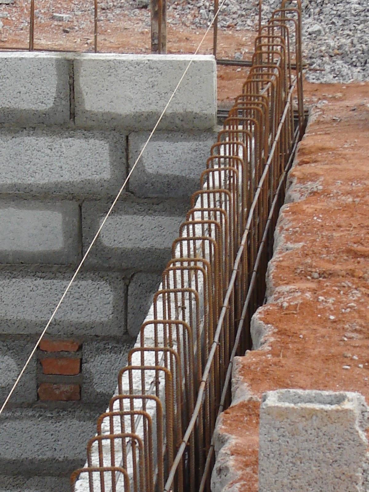 Obras em concreto armado for Como construir una piscina en concreto