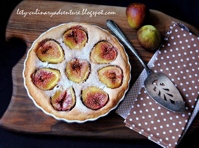 Бадемова тарта със смокини / Fig Almond Tart