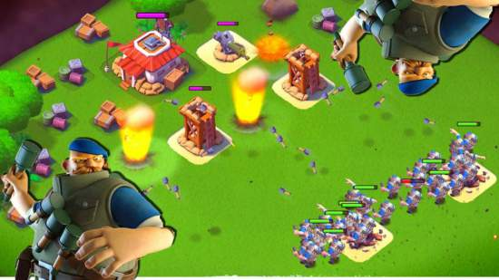 boom beach game for android