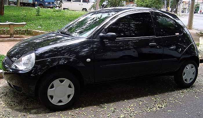 Ford Ka  Lateral