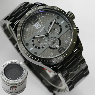 Jam Tangan T5 Water Resist Original