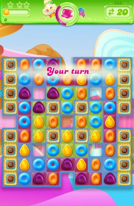 Candy Crush Jelly Saga saga 155