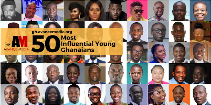 Nominees for the 50 Most Influential Young Ghanaians 2017 Announced